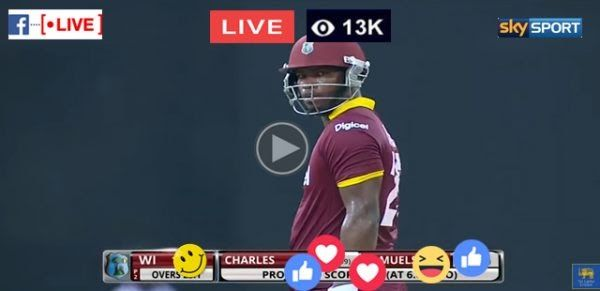 West Indies vs New Zealand Live Match Today