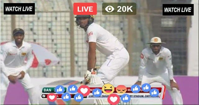 Bangladesh vs West Indies Live Streaming Test Match