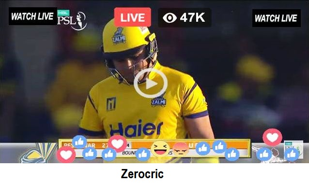 PSL Live Streaming Today