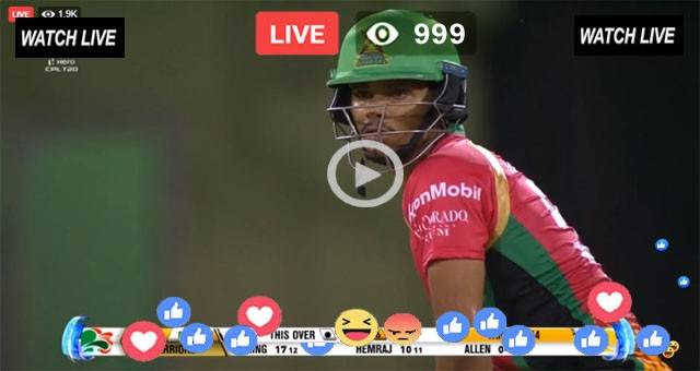 CPL Live Streaming Now 2021 || SNP vs GAW Live